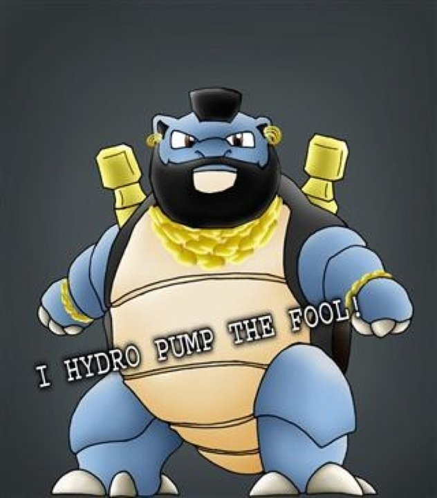 Worturtle is evolving into Mr. T?. Just something i thought was funny. I have never seen it i don't kno if it is a repost or not... ha that's awesome! I hadn't seen it before :D