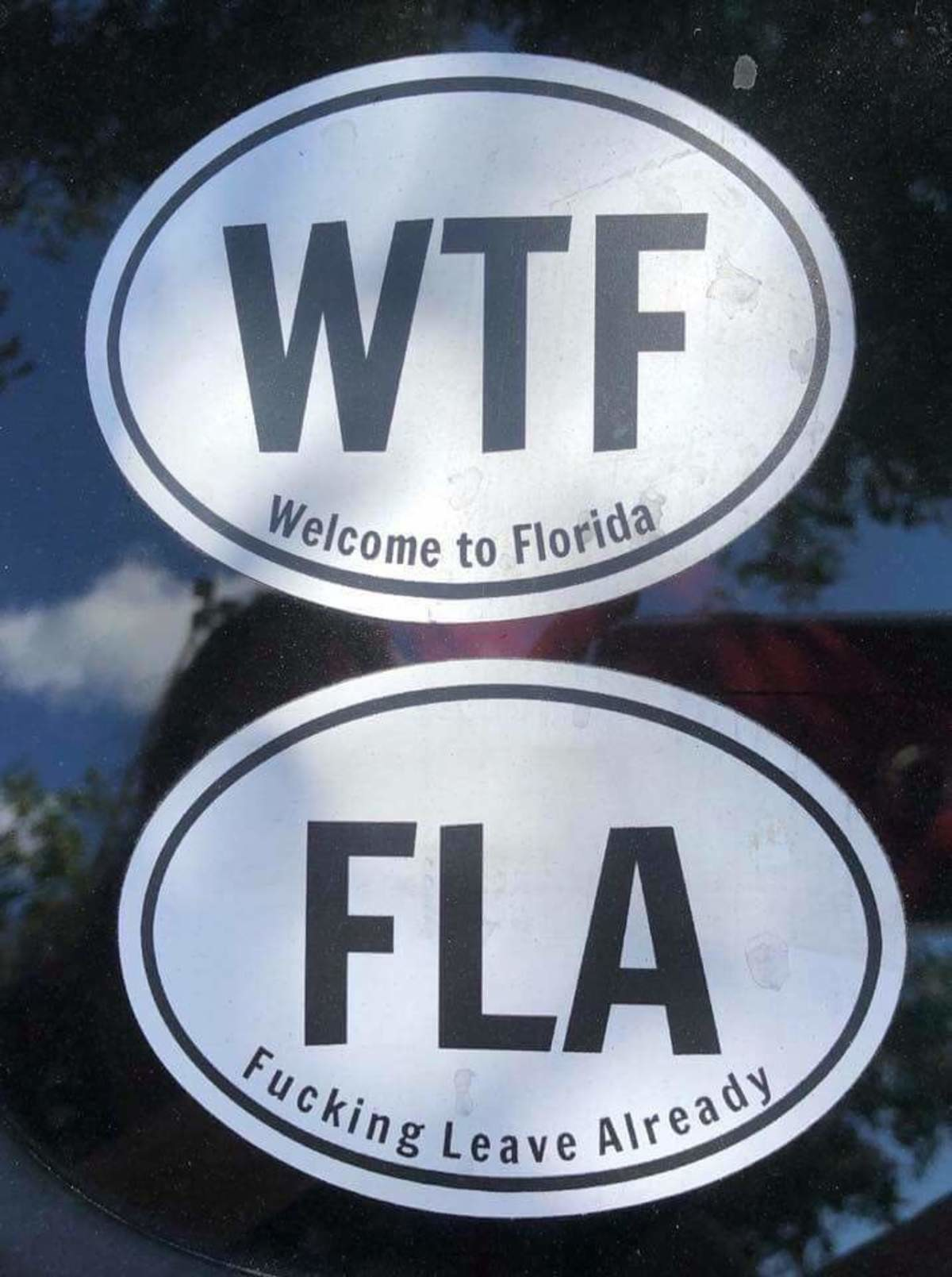WTF FLA. .. Living in Florida is a nightmareComment edited at .