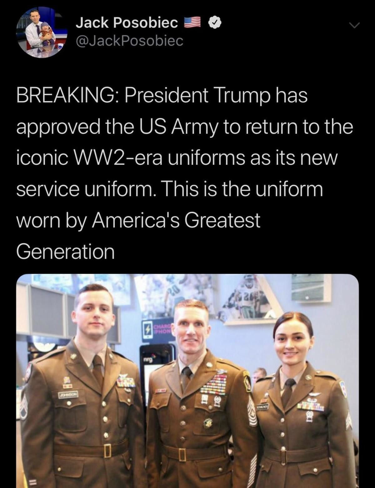 WWII Era Uniform. .. https://www.google.com/amp/s/www.military.com/kitup/2018/11/19/soldiers-get-new-greens-uniform-2020-after-army-finalizes-design.html/amp looked through many art