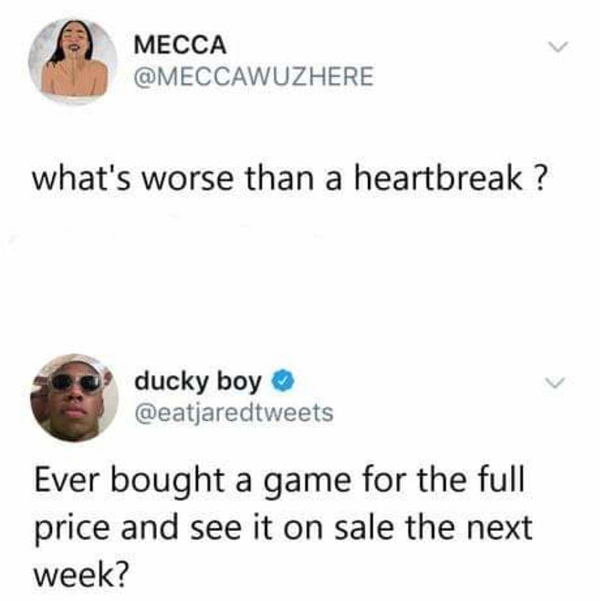 Yes. .. ever bought a game?