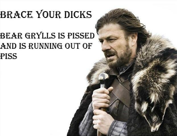 You Did Not See This Winter Coming. No dick is safe tonight.. BRACE YOUR HICKS % ' was. TO THE FRONT PAGE