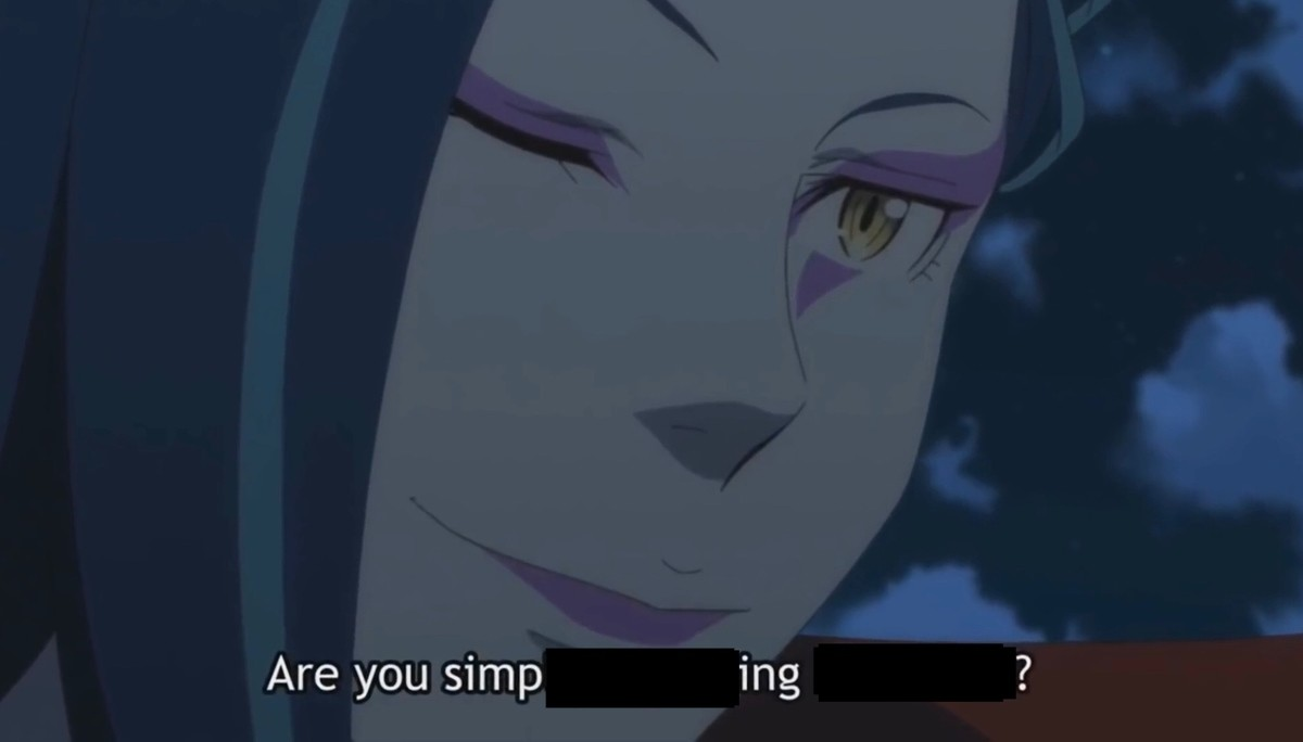 You simp?. .. I simp for THE Simp.