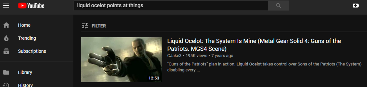 Youtube algorithms know what they're doing. .