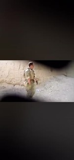 "I just don't understand how these terrorists could justify thems-   (Title from reddit was ""US soldier harassing Afghani kids & pointing his gun at them as a joke"")"