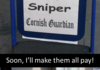 Those damn cat snipers