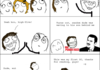 The awkward moment when