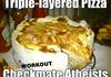 Triple Layered Pizza