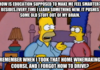 Homer knows education