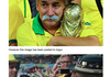 The Brazilian Fan Holding the World Cup