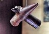 Two bullets that collided during the battle of gallipoli, WW1.