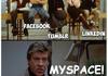 twitter facebook tumblr instagram linkedin myspace