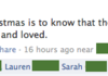 The most sincere Facebook Status