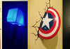 Thor and Captain America Night Lights
