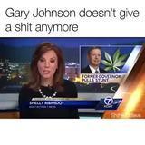 Gary Johnson gives no ----s