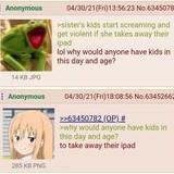 Anon hates Kids